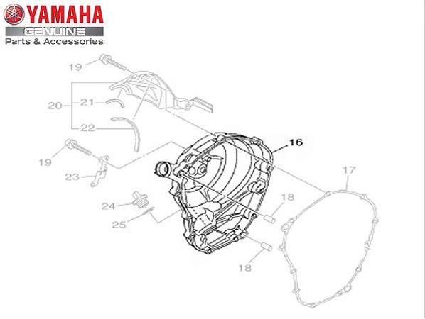 TAMPA DIREITA DO MOTOR DA MT-09 E MT-09 TRACER ORIGINAL YAMAHA