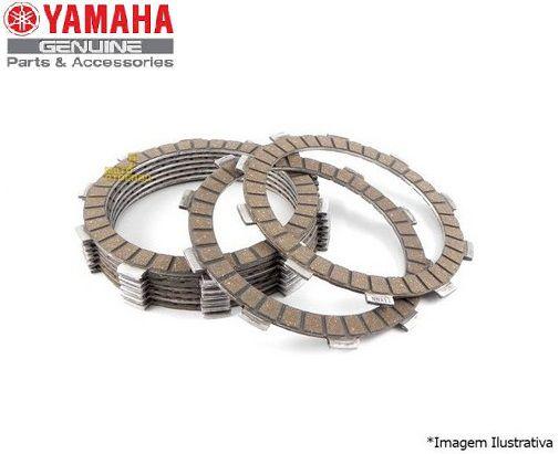 JOGO DE DISCOS DE EMBREAGEM PARA XT600E E XT600 TENERE ORIGINAL YAMAHA