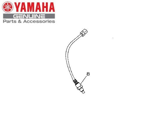 SENSOR DO TUBO DE ESCAP SONDA LAMBDA PARA MT-03 E YZF-R3 ORIGINAL YAMAHA