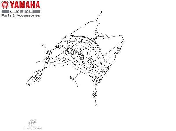 LANTERNA TRASEIRA COMPLETA PARA MT-09 ANO 2020 ORIGINAL YAMAHA