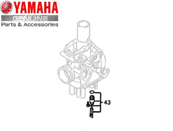 KIT AGULHA DA BOIA DO CARBURADOR XT600E E TENERE 600 ORIGINAL YAMAHA