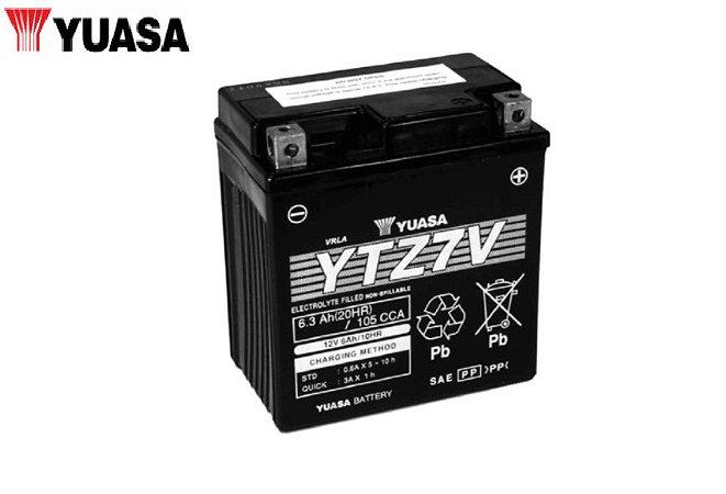 BATERIA YTZ7V YUASA PARA NMAX 160 2017 A 2020 ORIGINAL