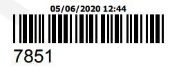 COMPRA REFERENTE AO ORCAMENTO 7851 - PECAS ORIGINAIS YAMAHA
