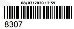 COMPRA REFERENTE AO ORCAMENTO 8307 - PECAS ORIGINAIS YAMAHA