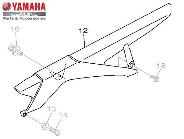 CAPA DA CORRENTE PARA XJ6-N E XJ6-F ORIGINAL YAMAHA