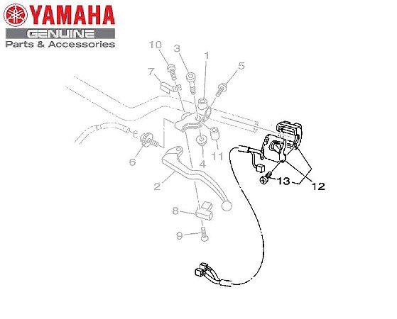 INTERRUPTOR ESQUERDO DO GUIDAO PARA MT-09 2020 ORIGINAL YAMAHA