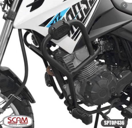 PROTETOR DE MOTOR E CARENAGENS PARA XTZ150 CROSSER ORIGINAL SCAM