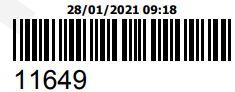COMPRA DO ORCAMENTO 11649 - PECAS ORIGINAIS YAMAHA