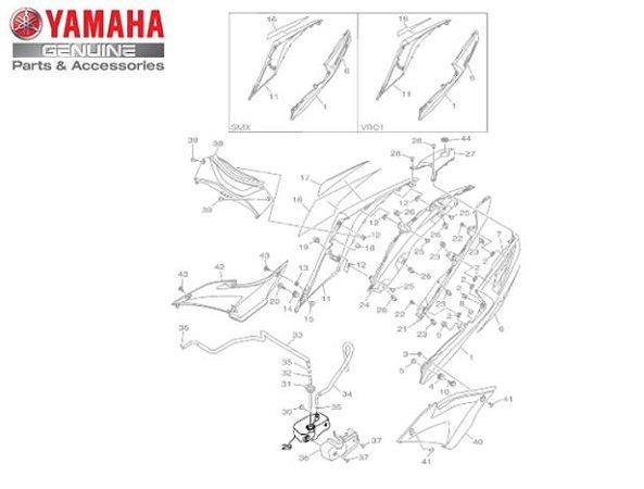 TANQUE DE RECUPERACAO PARA MT-03 E YZF-R3 ORIGINAL YAMAHA