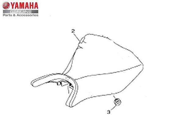 Capa do Selim Simples Yamaha YZF R3 Original