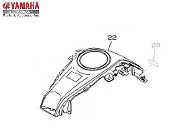 Cobertura da Tampa do Tanque Yamaha YZF R3 Original