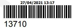 COMPRA DO ORCAMENTO 13710 - PECAS ORIGINAIS YAMAHA