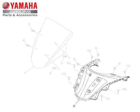 PAINEL DO CONSOLE PARA NMAX 160 2017 A 2020 ORIGINAL YAMAHA
