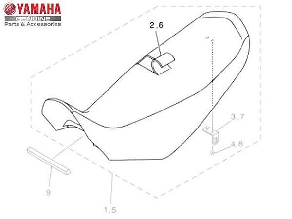 Capa do Selim Yamaha XT660R Original