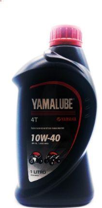 OLEO YAMALUBE SEMISSINTETICO SAE 10W40 1 LITRO PARA MOTORES 4T ORIGINAL YAMAHA