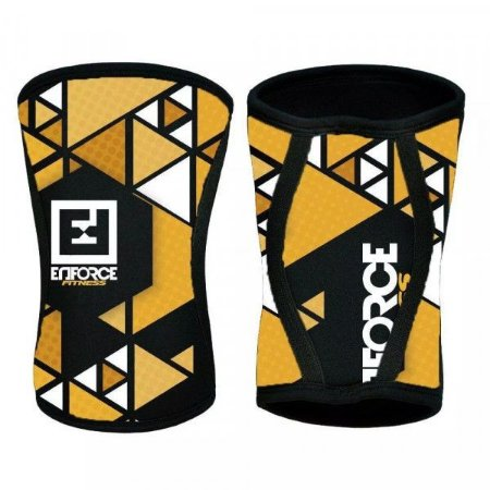 Joelheira para Crossfit Amarela - Enforce Fitness