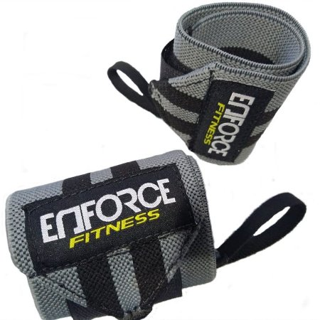 Munhequeira Profissional Powerlifting - Enforce Fitness