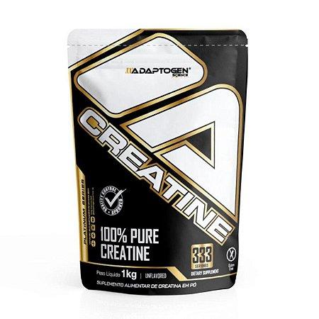 Creatina Platinum 1kg 100% Pura Adaptogen