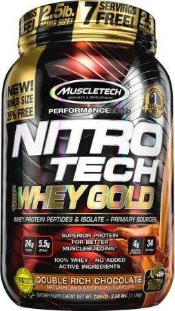 Whey Nitro-tech Gold - 1,130kg - Muscletech