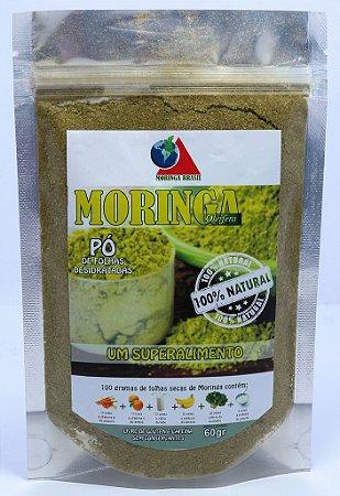 Kit MORINGA Premium -  03 sachês (02PÓs e  01Chá)