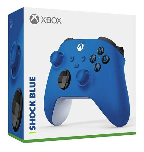 Controle Sem Fio Xbox Shock Blue