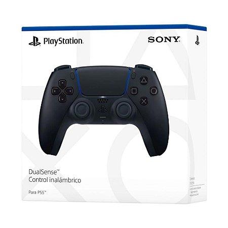 Controle sem Fio Dualsense Midnight Black Playstation5