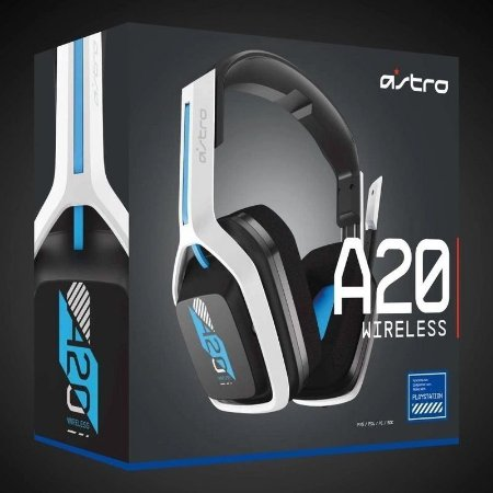 Headset Gamer Astro A20 PS5 PS4 PC Mac - Sem Fio