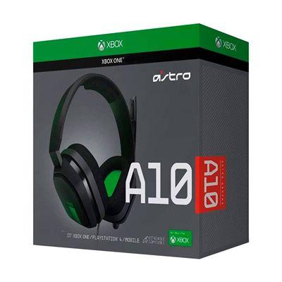 ASTRO Gaming A10 para Xbox, PlayStation, PC, Mac - Preto/Verde