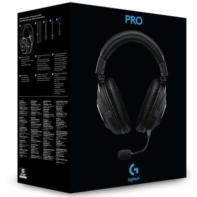 Headset Gamer Logitech G PRO X Com Blue Voice, Som Surround 7.1, Drivers Pro-G