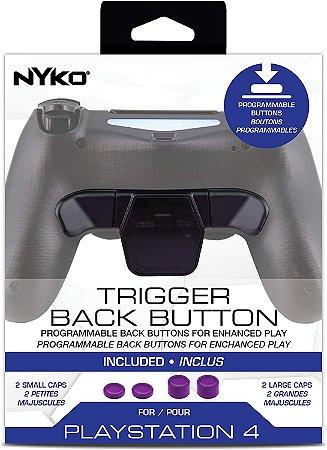 Gatilho  Adicional Traseiro Dualshock 4 Ps4 Trigger Back Nyko