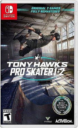 TONY HAWKS PRO SKATER 1+2 JOGO