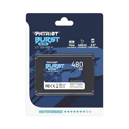 "SSD PATRIOT BURST 480GB 2.5"""