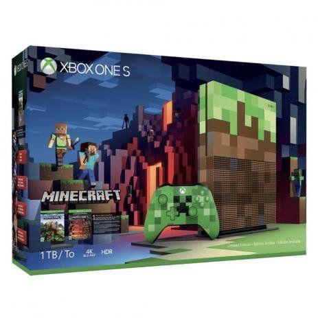 XBOX ONE S 1TB EDICAO MINECRAFT