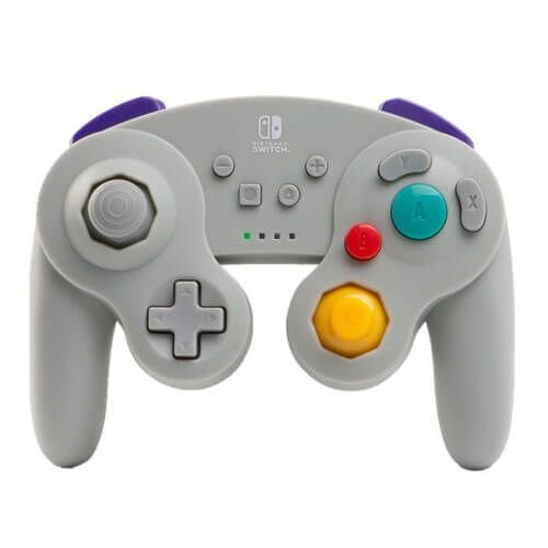 Wireless Controller Cinza GameCube Smash Bros Nintendo Switch