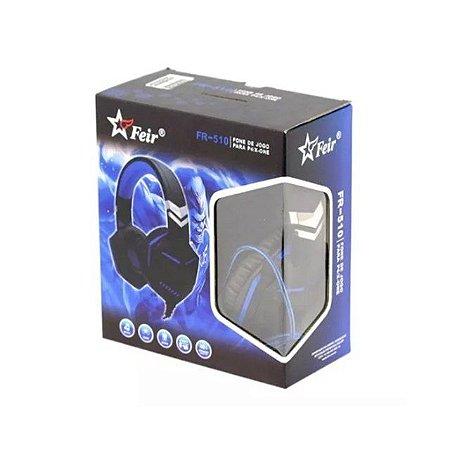 Headset Feir Gamer Ps4/One FR-510  Azul
