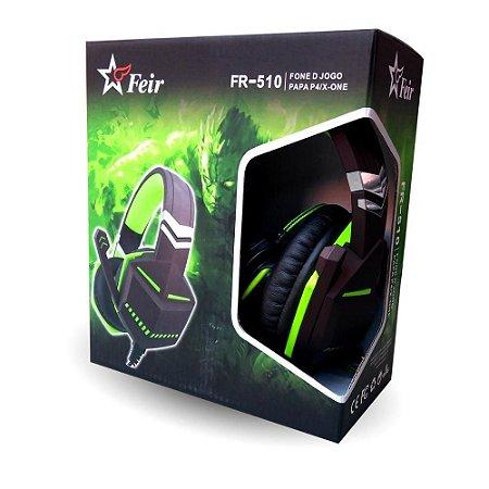 Headset Feir Gamer Ps4/One FR-510 Verde