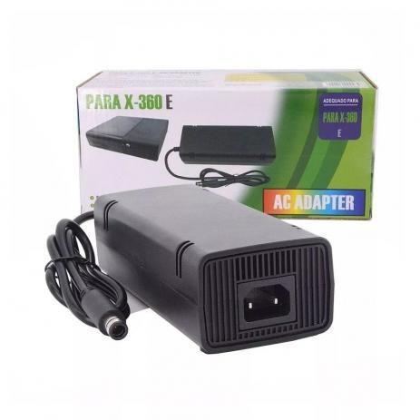 Fonte Para Xbox 360 Super Slim Bivolt 110v 220v 1 Pino