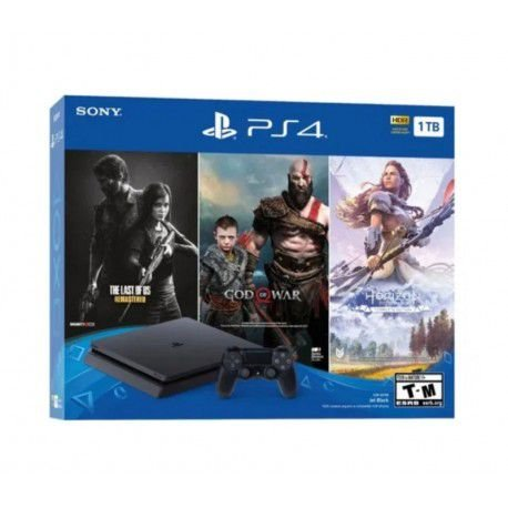 Playstation 4 1TB  (3 Games Pack ) +BRINDE EXCLUSIVO