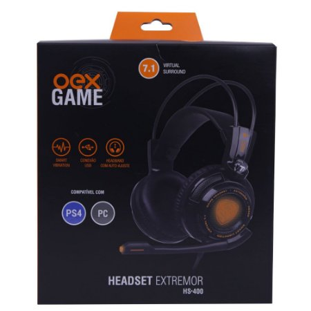 OEX GAME HEADSET EXTREMOR HS 400 7.1