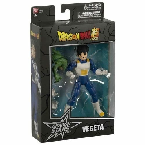 Figura Colecionável - 16 Cm - Dragon Ball - Dragon Ball Super - Série 7 - Vegeta - Fun