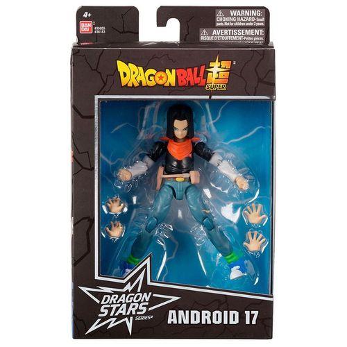 Dragon Ball - Super Boneco Articulado  - Android 17 - Fun