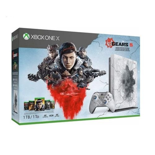 Console Xbox One X 1TB Gears 5 Limited Edition Bundle