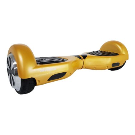 Hoverboard 6,5pol Skate Elétrico Dourado Bat Samsu