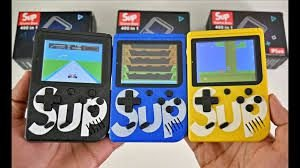 Game Retro Portátil Sup Boy Game 400 em 1