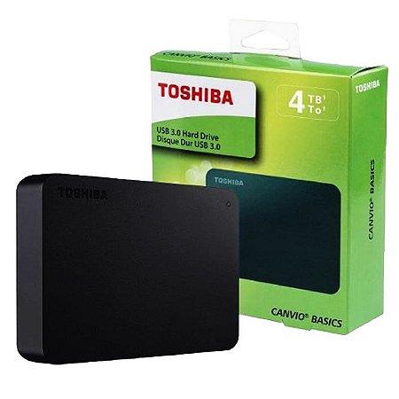 TOSHIBA 4TB HD EXTERNO