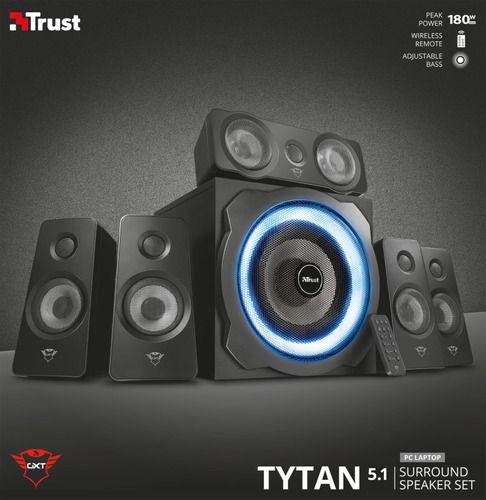 TRUST TYTAN 5.1 SPEAKER SET ILLUMINATED