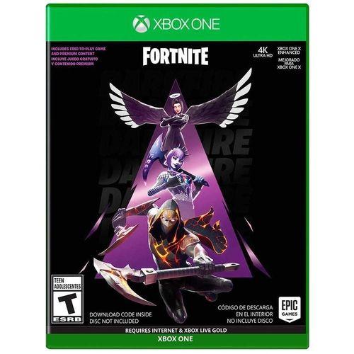 Fortnite Novo Pack Pacotao Fogo Sombrio Xbox One