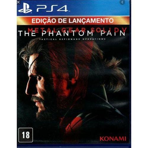 METAL GEAR PS4 (SEMI NOVO)