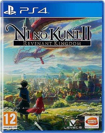 Ni No Kuni II Revenant Kingdom - PS4 (SEMI NOVO)