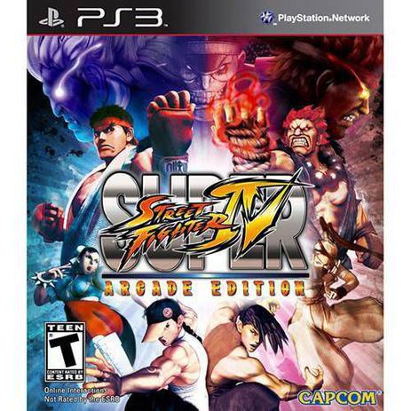 Super Street Fighter IV: Arcade Eition - PS3 (SEMI NOVO)